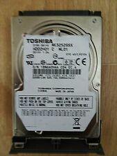 """Toshiba MK3252GSX 320GB,Internal,5400 RPM,6.35 cm (2.5"""") (HDD2H01) Desktop HDD"""