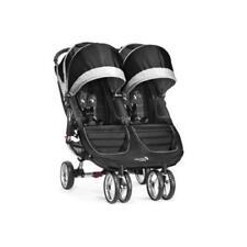 Poussettes et systèmes combinés de promenade pliants noirs pour bébé dès la naissance