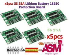 5pcs 3S 25A Li-ion 18650 BMS PCM Battery Protection Board with Balance BMS PCM