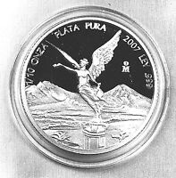 2007 1/10 oz Silver Libertad Proof   *Treasure Coins of Mexico™*