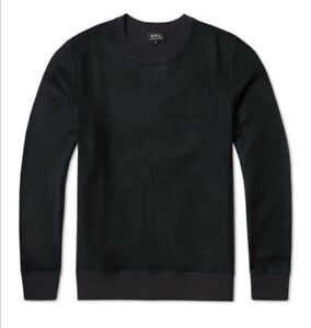 APC Navy Sam Reverse Sweatshirt Size Medium Brand New Authentic