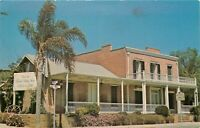 Chrome Postcard CA J234 The Whaley House San Diego Tanner Troupe Street View