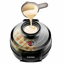 Belgian Waffle Maker Non Stick No Mess Perfect Pour Volcano Iron by Chefman
