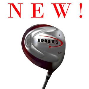 New Medicus Maximus Men's 460cc Club Practice Training Left Hand 12 Degree Iron