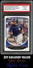 $75 - 2013 GARY SANCHEZ (Topps) BOWMAN #31 1ST GRADED 10 ROOKIE CARD RC YANKEES