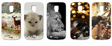 CUSTODIA COVER CASE ANIMALI CANE GATTO LEONE BIRD PER SAMSUNG GALAXY S5 G900