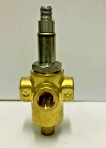 Parker Lucifer 132T0304  3-Way 1/4 in. Solenoid Valve without coil