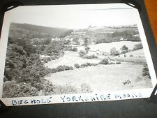 Old photograph Beck Hole Yorkshire c1932