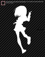 2x Haruhi Suzumiya Sticker Decal Die Cut