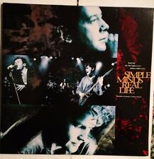 SIMPLE MIND - Real Life - Vinile 12 Mix - New - Gatefold - Colour Poster - 1991