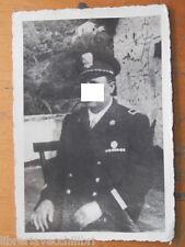 Vecchia fotografia di Gerarca Fascista Salerno Partito Nazionale Divisa della da