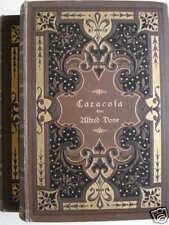 Alfred Dove CARACOSA  PARMA Berlin 1894 Cotta Verlag