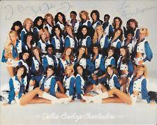 Vintage 1982-1983 Dallas Cowboys Cheerleaders 8x10 Photo - 4 Autos - PLEASE READ