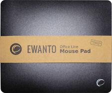 EWANTO Office Line Mauspad Mousepad schwarz - Mouse Maus Pad - E014002
