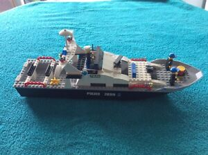 lego city bateau police