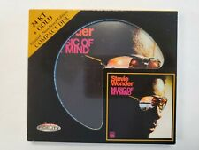 Stevie Wonder - Music of My Mind (CD, 2010, Audio Fidelity) 24k Gold Disc