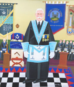 """""""The Master Of The Lodge """" Limited Edition Print"""