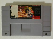 Super Mario RPG: Legend of the Seven Stars (Super Nintendo, 1996) SNES AUTHENTIC