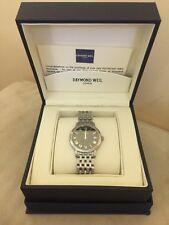Raymond Weil Men's Unisex Quartz Stainless Steel Watch Preowned