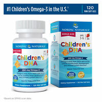 Nordic Naturals Children's DHA - Cognitive Development & Immune Health, 120 Ct
