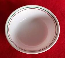 Corelle Holly Days Cereal Soup Bowl Green Red Trim Christmas Holiday Replacement
