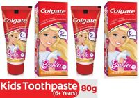 Colgate Barbie Strawberry Toothpaste - 80 gm (Pack of 4) With Free Shipping