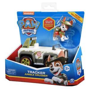 Paw Patrol Tracker Jungle Cruiser Basic Auto mit Figur