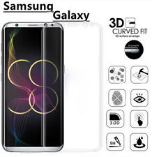 Full Curved 3D Tempered Glass Screen Protector For Samsung Galaxy S8 - CLEAR