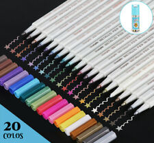 20 Farben Acrylstifte Metallic M...