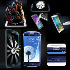 For Samsung Galaxy Phone Premium Real Tempered Glass Film Screen Protector Guard