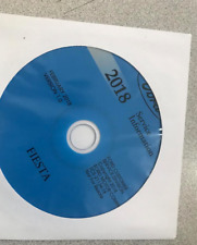 2018 Ford FIESTA Service Shop Workshop Repair Manual CD New Factory