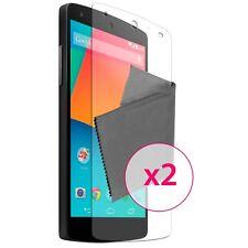 2x Films de protection Anti Traces de doigts HD Pour Google Nexus 5 Par LG ®