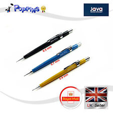 New Java 0.5mm, 0.7mm, 0.9mm Jedo Mechanical Pencil For Drafting Office UK Stock