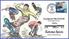 USA7 #3191d U/A COLLINS HAND PAINTED FDC   1990s Extreme Sports
