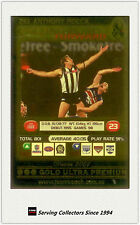 2001 AFL Teamcoach Gold Parallel Card 261 Anthony Rocca (Collingwood)