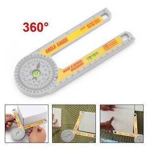 Pro Angle Finder Miter Saw Protractor Measuring Ruler Tool Goniometer Gauge new