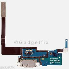 US Samsung Galaxy Note 3 N900P USB Flex Cable Charger Charging Dock Port + Mic
