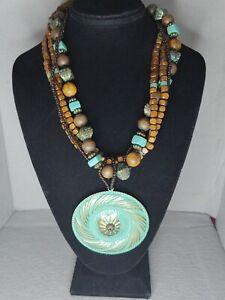 Modern Island Necklace