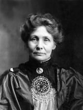 Photo. 1909-11.  Emmeline Pankhurst - Women's Suffrage