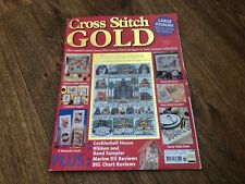 CROSS STITCH GOLD MAGAZINE #14 COCKLESHELL HOUSE, NEW BABY SAMPLERS