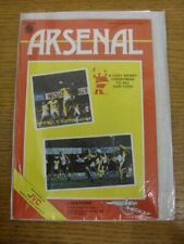 22/12/1984 Arsenal v Watford (Very Good Condition). Thank you for viewing our it