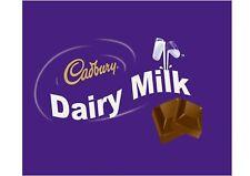 Cadbury Dairy Milk chocolate edible icing cake topper