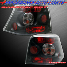 1999-2004 VOLKSWAGEN VW GOLF MK4 ALTEZZA STYLE TAIL LIGHTS BLACK COLOR PAIR