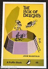 THE BOX OF DELIGHTS by John Masefield Postcard