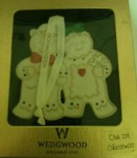 Wedgwood Our 1st First Christmas Brand New Ornament