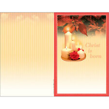 New Church Bulletin Brochure Paper (Package-100) - Christ is born