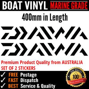 Daiwa Sticker Decal Fishing fridge box Marine Grade Vinyl 400mm