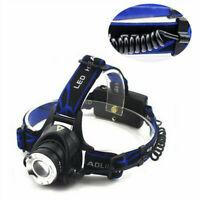 Waterproof T6 Rechargeable Camping LED Headlight Headlamp Head Torch Flashlight~