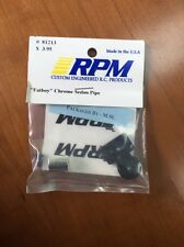 "RPM ""FATBOY"" CHROME SEDAN PIPE 81213"