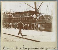 "Algérie, Philippeville (Skikda سكيكدة), Bateau ""La Ville d'Oran"" Vintage ci"